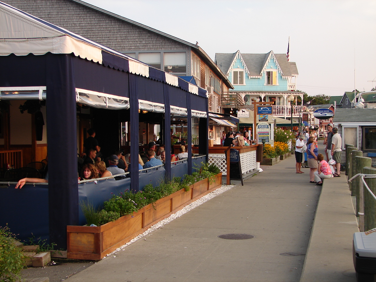 Boardwalk Oak Bluffs Martha's Vineyard